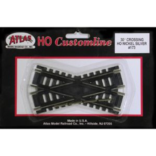 Atlas Trains 173 HO Scale HO Code 100 30* Crossing