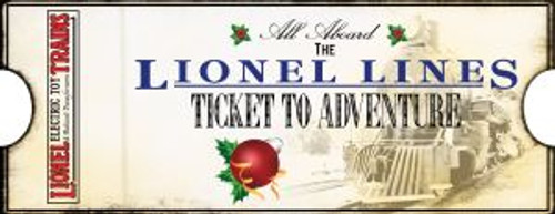 9-22051 Lionel Lines 2015 Ticket Ornament