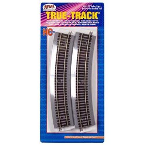 Atlas Trains 463 HO Scale HO True-Track 22 Radius/4pk