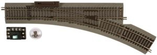Atlas Trains 483 Ho Scale HO True-Track 22 Radius RH Manual Switch