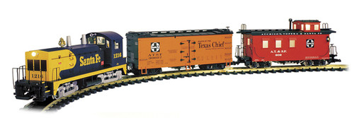 USA Trains R72301 Santa Fe Ready To Run Train Set G Gauge