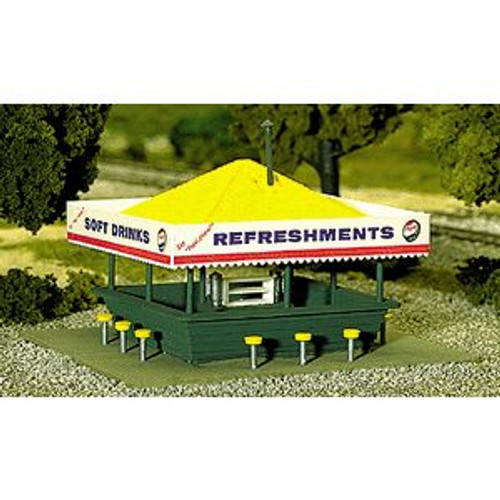 Atlas Trains 715 HO Scale Refreshment Stand Kit
