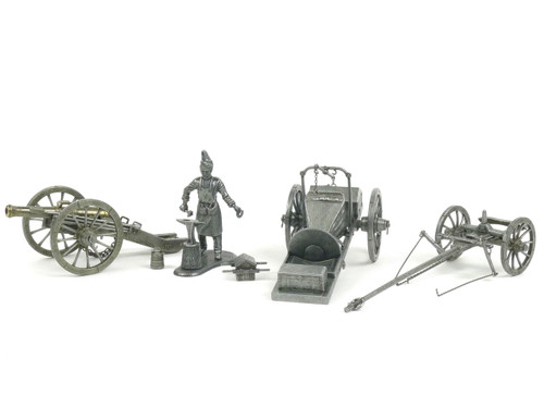 MHSP Napoleonic Canon and Artillery Group 7 Pieces