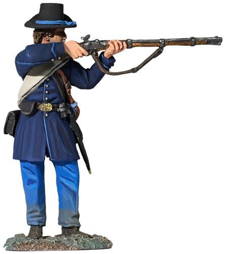 WBritain 31288 Federal Iron Brigade Standing Firing American civil War