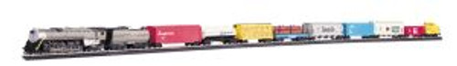 Bachmann Trains 00614 HO Scale Overland Limited UP Freight Set/4-8-4