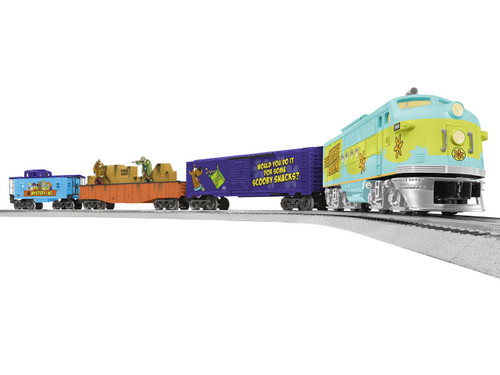 Lionel 6-85241 LionChief Scooby Doo Freight Set w/Bluetooth/FT Diesel
