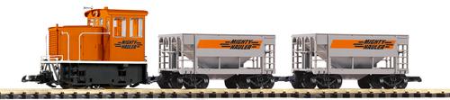 Piko America 38150 Mighty Hauler GE 25-Ton Starter Set G Scale