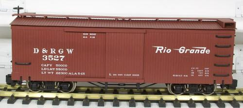 Bachmann 93318 Denver Rio Grande Western Box Car G Scale Trains