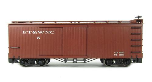 Bachmann 93320 Eastern Tennessee & Western North Carolina Box Car G Scale Trains