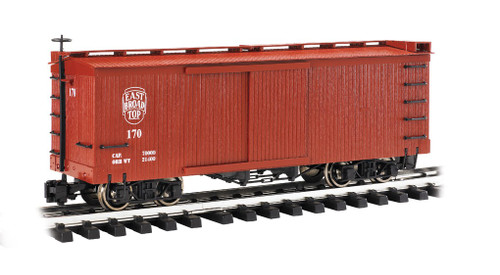 Bachmann 93330 East Broad Top Box Car G Scale Trains