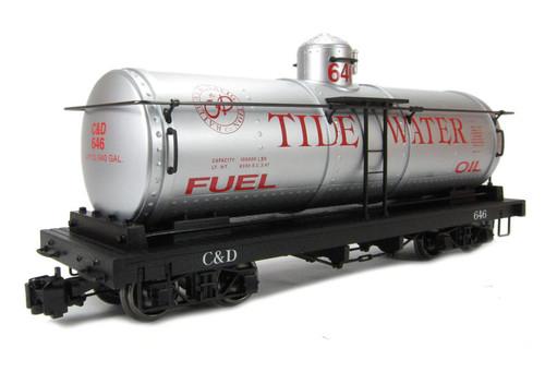 Bachmann 93433 Tide Water Single Dome Tank Car G Scale Trains