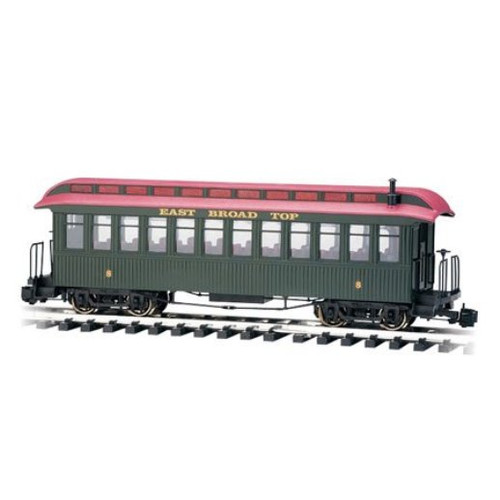 Bachmann 89694 East Broad Top Lighted Observation Passenger Car G Scale Trains