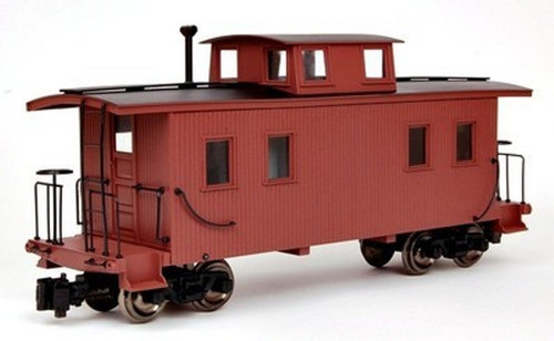 Bachmann 93570 Unlettered Oxide Red 8 Wheel Caboose G Scale Trains