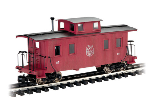 Bachmann 93827 East Broad Top Eight Wheel Caboose Center Cupola G Scale Trains