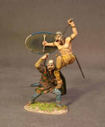 John Jenkins Designs AER-12A Ancient Gauls Warrior Charging Ancients Collection