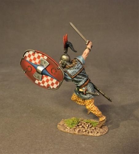 John Jenkins AER-16B Armies And Enemies Of Rome Ancient Gauls Warrior Charging