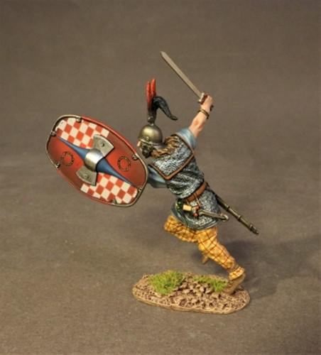 John Jenkins AER-16B Armies And Enemies Of Rome Ancient Gauls Warrior Charging