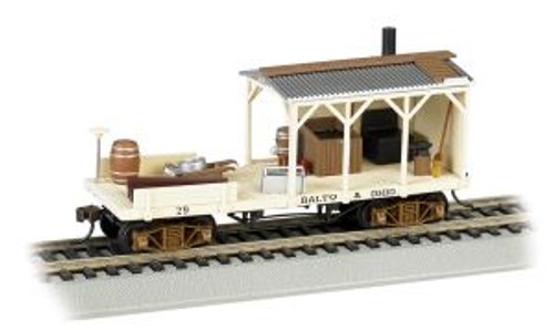 Bachmann Trains 16401 HO Scale OT MoW Blacksmith Car B&O