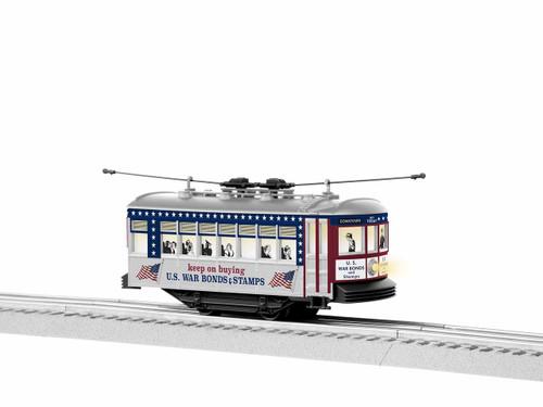 Lionel Trains 1935090 US War Bonds Trolley O Gauge