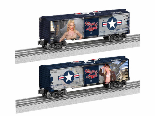 Lionel Trains 1938260 Wings of Angels - Blonde Boxcar O Gauge