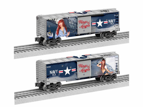 Lionel Trains 1938270 Wings of Angels - Redhead Boxcar O Gauge