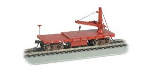 Bachmann 16417 HO Scale OT MoW Derrick Car CP