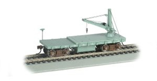 Bachamann Trains 16419 HO Scale OT MoW Derrick Car U.S. Military RR