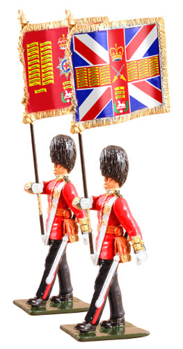 WBritain 48016 The Queen's Diamond Jubilee Set, The Guards Colours, Coldstream Guards