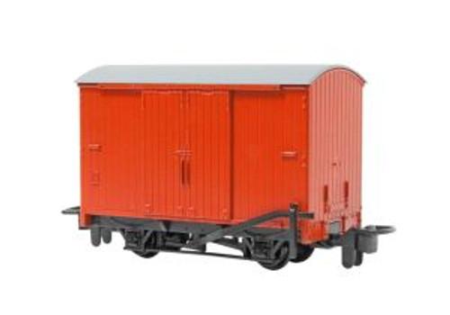 Bachmann Trains 77203 HO Scale TTT Narrow Gauge Box Van/red (Runs on N Track)