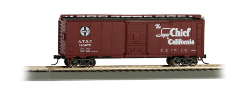 Bachmann Trains 16501 HO Scale 40' SF Map Boxcar/Super Chief