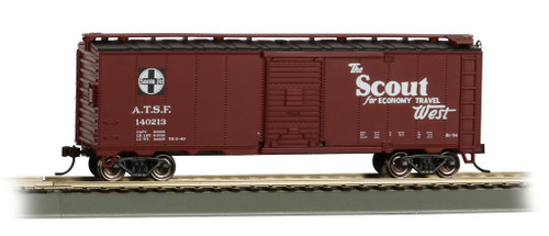 Bachmann Trains 16502 HO Scale 40' SF Map Boxcar/Scout