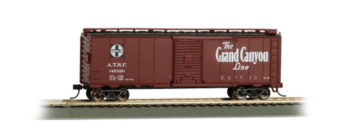 Bachmann Trains 16503 HO Scale 40' SF Map Boxcar/Grand Canyon