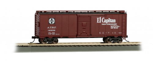 Bachmann Trains 16504 HO Scale 40' SF Map Boxcar/El Capitan