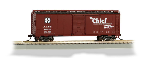 Bachmann Trains 16505 HO Scale 40' SF Map Boxcar/Chief
