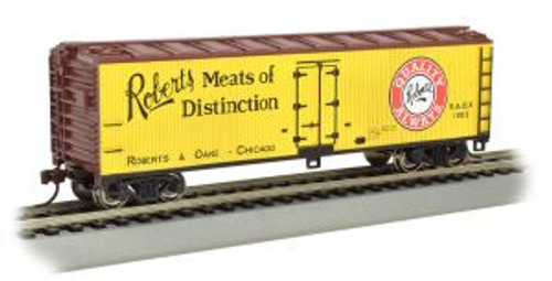 Bachmann Trains 19807 HO Scale 40' Wood Reefer Roberts Meats