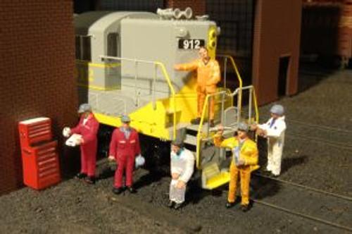 Bachmann Trains 33113 HO Scale Mechanics/7pc