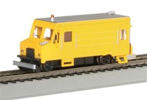 Bachmann Trains 46204 HO Scale Highrailer Rail Detector Van/yellow