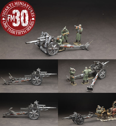 Figarti European Theatre WW2 German ETG-072 10.5CM LE FH 18/40 Howitzer Set