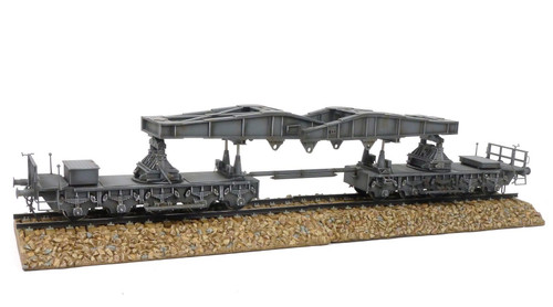 Figarti Miniatures ETG-064 Karl Morser Railway Carrier 1/30 Collectible Soldiers