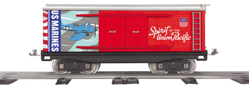 MTH 11-30259 Tinplate Spirit Of The Union Pacific US Marines Standard Gauge Box Car
