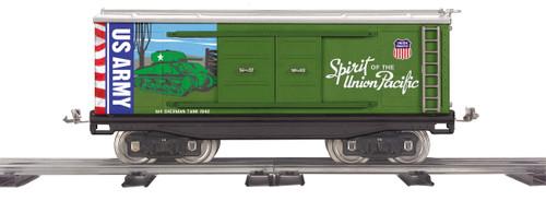 MTH 11-30257 Tinplate Spirit Of The Union Pacific US Army Standard Gauge Box Car