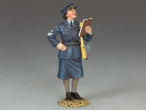 King & Country RAF019 Royal Air Force WAAF Sergeant