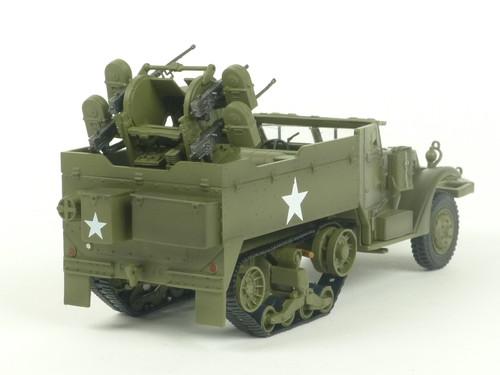 MTH 20-95327A US Army M16 Halftrack O Scale Train Load 1/43 Scale