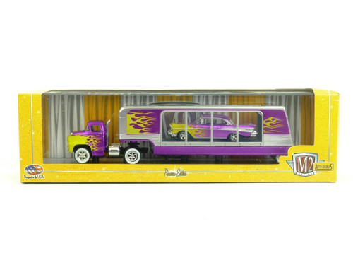 M2 Machines 36000 Premium Edition Die-Cast Auto Hauler Chevrolet Bel Air