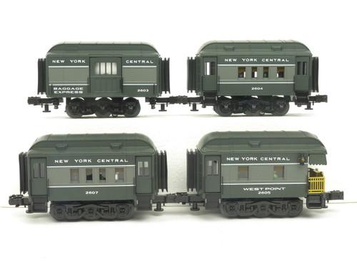 RMT Ready Made Trains Mini Peep NYC Passenger Car Set 1 & 2 O Gauge