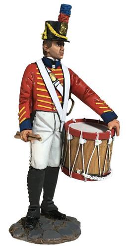 WBritain 13032 Jack Tars And Leathernecks US Marine Drummer 1811-18