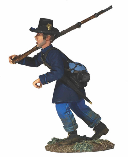 WBritain 31290 ACW Federal Iron Brigade Advancing at Right Shoulder No.5