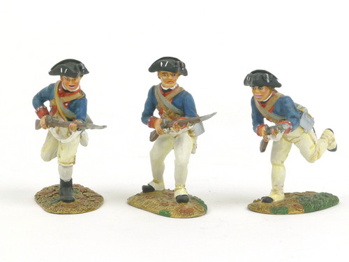Conte Collectibles PAT-209 Continental Line Charging American Revolution