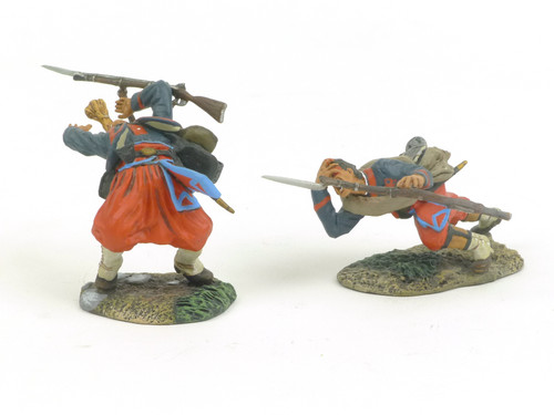 Conte Collectibles Zouaves 006 Falling Wounded Set #1 American Civil War