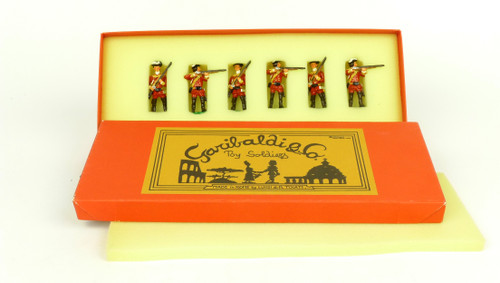 Garibaldi Toy Soldiers B6A Royal Americans French Indian War